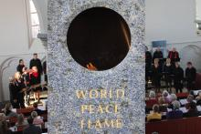 World Peace Flame Cadzand